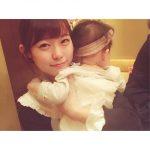 渡辺美優紀が赤ちゃんとのツーショットを公開・・・