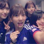 高城・北原・内田・阿部のスキャンダルメンバーでサッカー観戦www