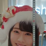 加藤美南ちゃん(公式プロフ152cm)の等身大パネルの身長を測った結果・・・