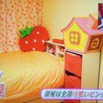 【画像】ももちが普段寝ているベッドや自室が公開されてた件