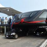 【画像】中国で開発中の「アーチ型バス」の現在wwwwwwwwwwww