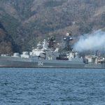 【画像】京都・舞鶴でロシア海軍の駆逐艦「アドミラル・トリブツ」が一般公開!