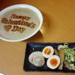 【画像】ラーメン「Happy Valentine's Day!」←これwwwwwwwwwwwww