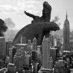 【画像】コモドドラゴン同士のバトルがあまりにも恐竜っぽかったのでコラ職人が頑張った結果wwwwwww
