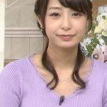 【画像】宇垣美里アナの「ニットお●ぱい」がシコリティ高すぎるwwwwwwwwwwww