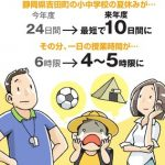 【超悲報】静岡の小中学校、子どもたちの夏休みを10日間に決定wwwwwww