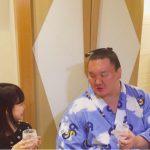 渡辺美優紀「昨晩は白鵬さんにお会いできました」