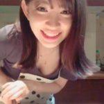 小嶋陽菜さん、生配信でめちゃめちゃ胸を見せてしまう