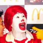 【衝撃】マクドナルドのドナルドが石田ひかりに暴走wwwww