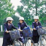 中学生チャリ通でヘルメット被ってたやつwwwwwwwwwwww