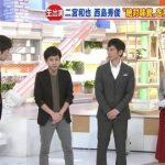 【悲報】国民的アイドル嵐の二宮和也さん、女子アナより小さいwwwwwwww (※画像あり)