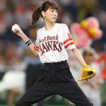 桐谷美玲の投球フォームヤバすぎwwwwwwwwww (※画像あり)