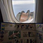 【恐怖画像】ボーイング777のエンジンが飛行中にバラバラになるところを客席から目撃してしまう・・・こんなの怖すぎだわ