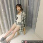 【悲報】橋本環奈さん(18)、ぶっとい太ももを晒してしまう