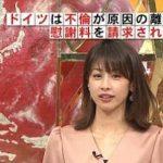 【最新画像】加藤綾子アナの最新とんがりお●ぱいがエッチすぎるwwwwwwwwwwwww