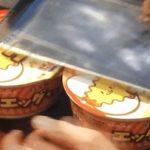 木村拓哉さんカップ麺の蓋の置き方www