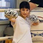 【悲報】広瀬すずさんがキックボクシングジムでドラマ大爆死の鬱積を果たしてたw