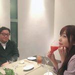 【画像】指原莉乃さん、秋元康さんと会食の様子をツイートする