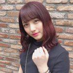 大和田南那、髪を赤く染める
