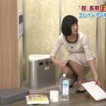 竹内由恵アナウンサーの下半身、太い