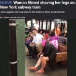【動画】米NYの地下鉄駅ホームでとんでもない女性が出現wwwwww 「頼むから家でやってくれ」