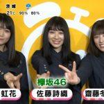 めざましジャンケンに出ていた欅坂46って人らのビジュアルがアレなんだが・・・
