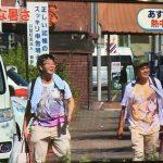 【画像】猛暑ニュースでアニ豚が激写されてしまうwwwwww