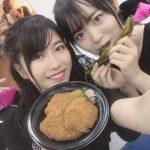 西川怜ちゃんが得体の知れない物を食べてる・・・