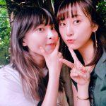 松井玲奈と家入レオが密着2ショット公開「レナレオコンビ最強」「かわいすぎ」