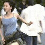 【GIF画像】広末涼子の乳揺れGIFがシコリティ高すぎるwwwwwwwwwwww