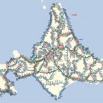 【画像】北海道の路線図がすごすぎる