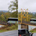 【画像】アメリカの吊り橋が怖すぎるwwwwwwwwww