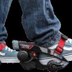 『ボトムズ』みたいに地上を高速移動したいって夢、叶えます。靴に装着する電動モーター