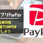 """ペイペイ(PayPay)、クレジットカード決済の上限を""""5万円まで""""に変更・・・"""