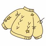 小島瑠璃子さん、たわわなニットお胸を「たゆん」とテーブルに乗せてしまう