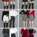 【画像】韓国の若い女の子がよく着てるこういうファッション、エチエチwwwwwwww
