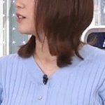 【GIF画像】女子アナさん、うっかりパイズリのポーズを取ってしまうwwwwwwwwwwww