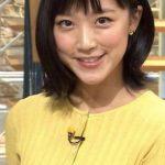 【最新画像】竹内由恵アナのニットお●ぱいの膨らみがエチエチすぎるwwwwwwwwwwww
