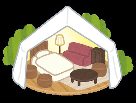 辻ちゃん自宅のバルコニーに巨大テントは作る (※画像あり)