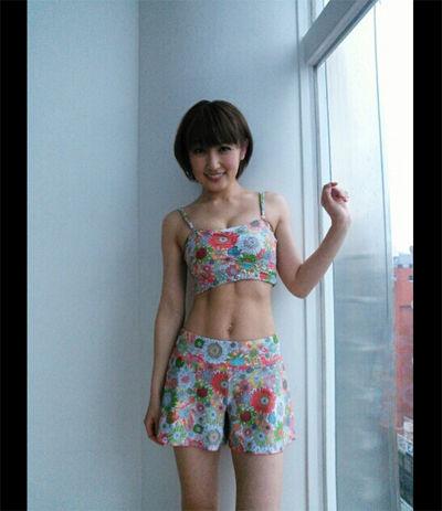 【驚愕】熊田曜子の体脂肪率wwwwwwwwwwwwwwwwwwwwwwww