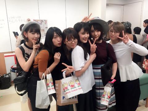 宮脇咲良「舞台「歌姫」を観てきました。先輩方も大集合でしたよ…」