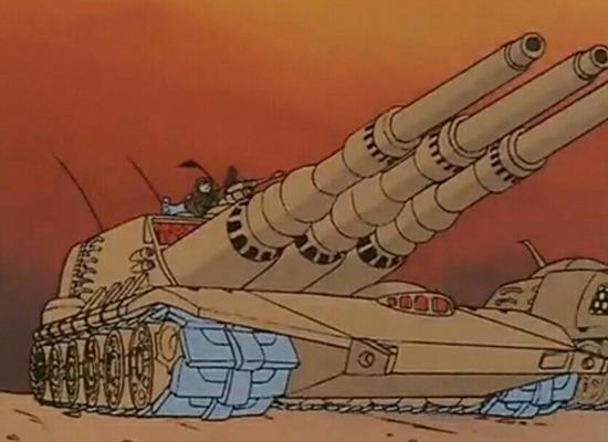 【画像】アニメの戦車貼っていくwwwwww