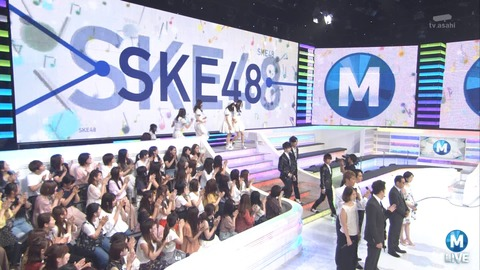 SKE48がMステで「意外にマンゴー」を披露!!【キャプチャまとめ】