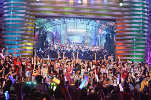 【悲報】秋元康が東京アイドルフェスティバルを乗っ取り 中堅アイドルから大ブーイングww