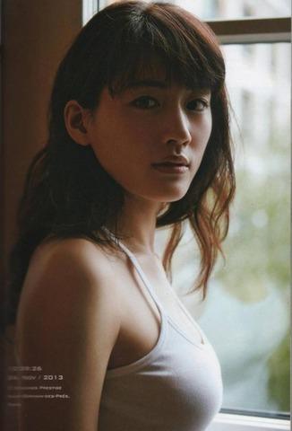 【画像】綾瀬はるかのピチピチタンクトップ姿wwwwww