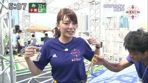 【朗報】テレビ朝日の新人女子アナの胸がデカいwwwwwwwww (※画像あり)
