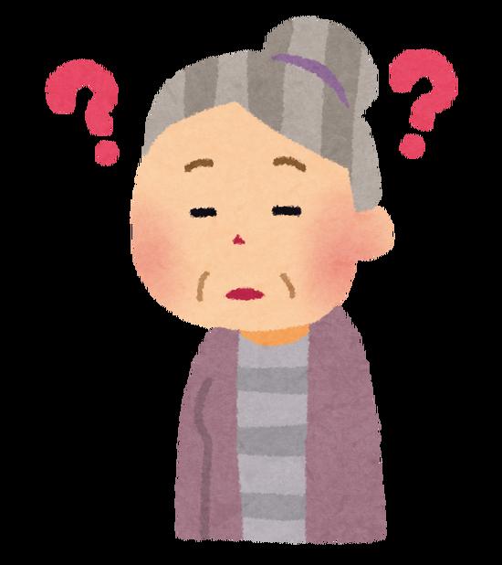 【悲報】ワイのばあちゃん、トイレの使い方を忘れる・・・