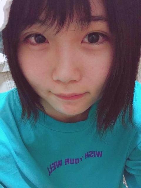 HKT48秋吉優花と欅坂の尾関梨香が似てる