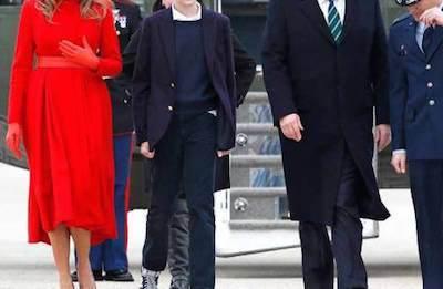 【画像】トランプ大統領の息子、バロン君がイケメンすぎるwwwwwwwwwwww